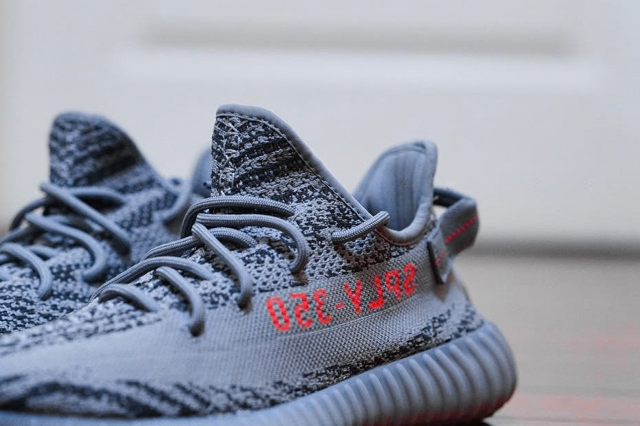 "a74539c1b This adidas Yeezy Boost 350 V2 Beluga 2.0 features a Primeknit woven upper  that replaces the Bold Orange side stripe and uses it on the ""SPLY 350""  branding ..."