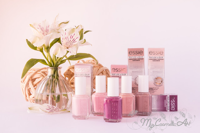 Treat, Love & Color de Essie: tratamiento y color en un solo producto.