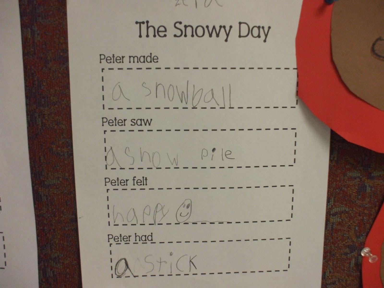 Mrs Huff S Kinderblog Winter Fun