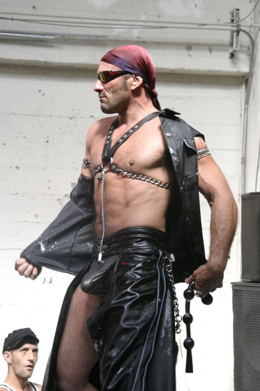 Leather Master Slave Cock 44