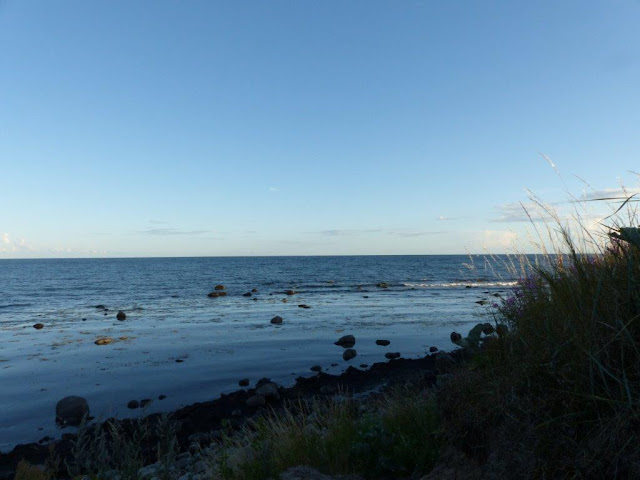 Schweden Urlaub Anreise Camping Urlaub mit Hund Ystad Meer Küste Entspannung Ankommen Abend Sommer