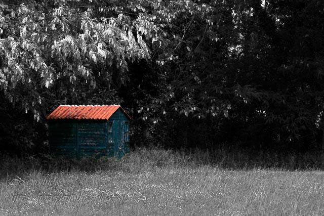 cabane isolée