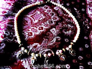 Real Moti or Pearl Necklace