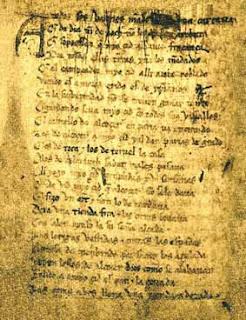 Versos dodecasílabos, tridecasílabos y de más de catorce versos, versos anisosilábicos, Francisco Acuyo