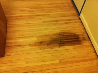 What Can You Do About Hardwood Floors That Have Been Destroyed By Pet Damage In This Case Dog Urine Steel Yourself For A Sharp To The