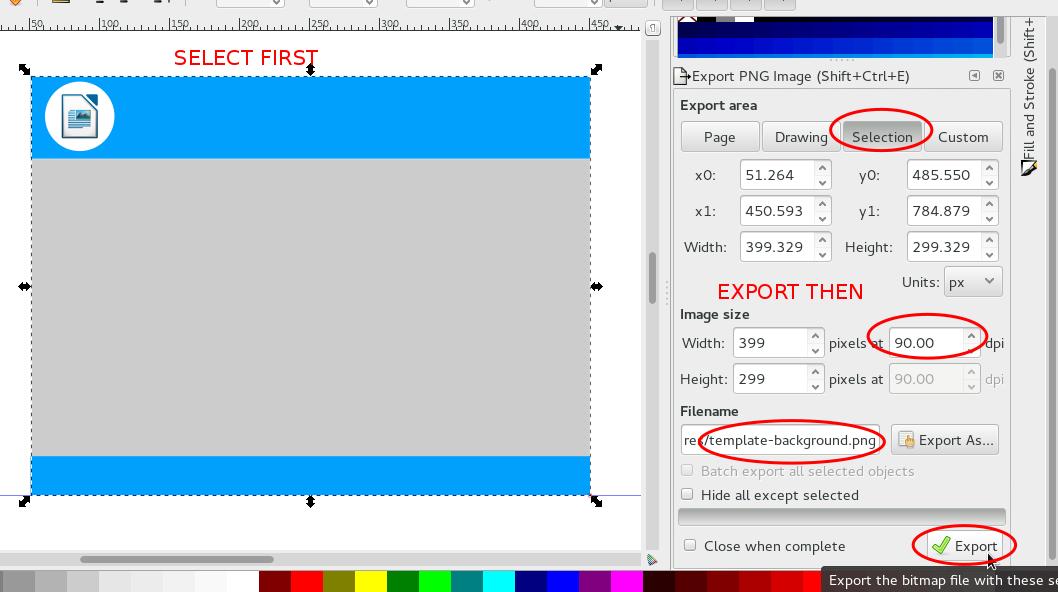 Ubuntu Buzz !: How To Create Simple LibreOffice Impress