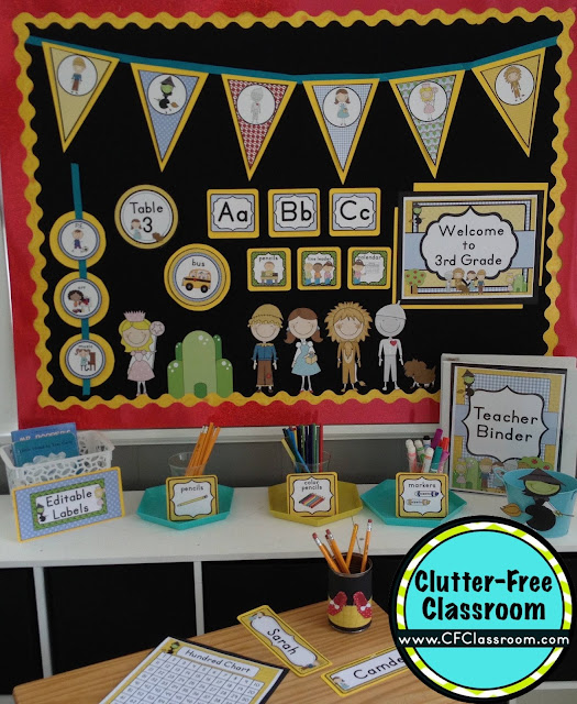 Wizard of Oz Themed Classroom - Ideas & Printable Classroom ...