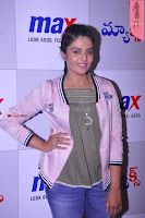 Sri Mukhi in Denim and Jacket at Max Summer Collection Launch  Exclusive 037.JPG