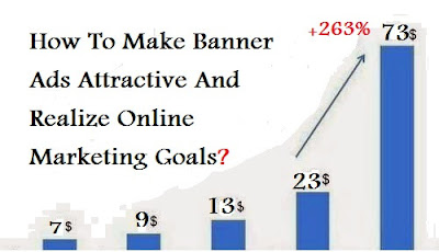 How To Make Banner Ads Attractive And Realize Online Marketing Goals?