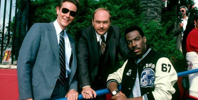 Eddie Murphy, Judge Reinhold şi John Ashton în Beverly Hills Cop II (1987)