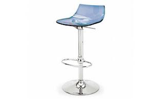 барный стул из стекла
