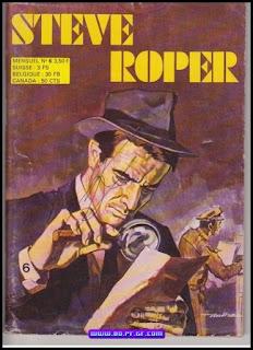 Steve Roper,  Le mystérieux carnet, 2eme série, numéro 6, 1974