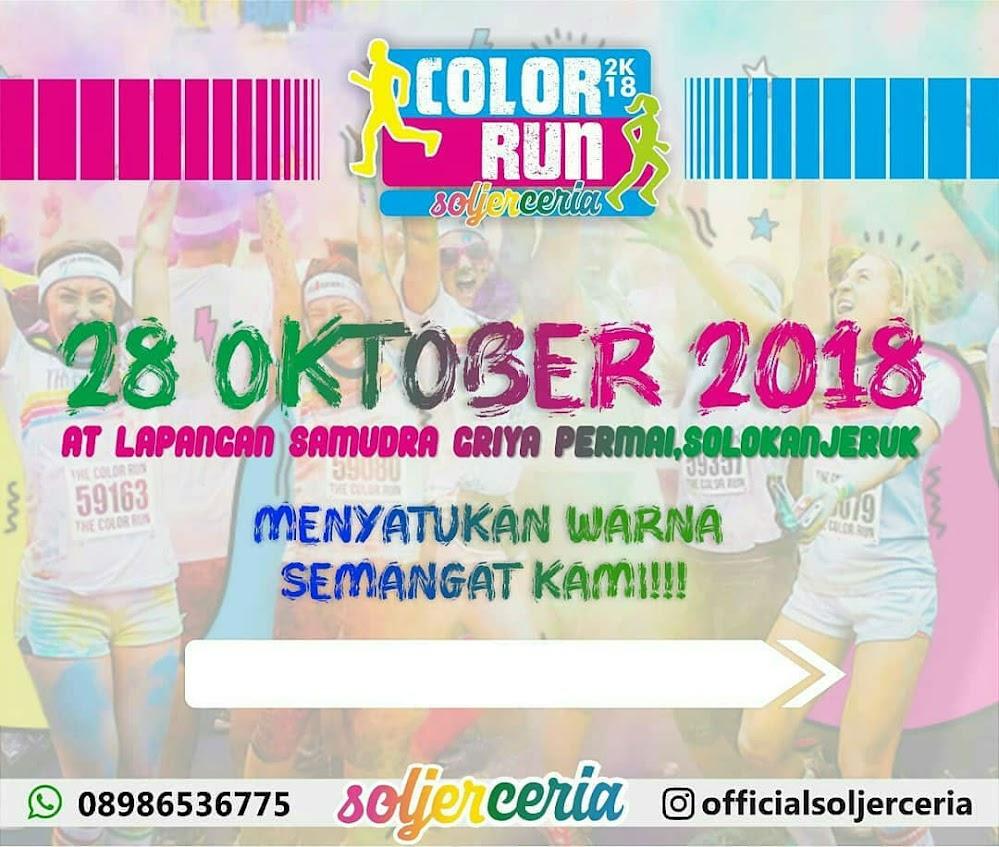 Color Run Soljer Ceria • 2018