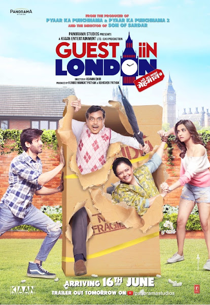 Poster of Guest In London 2017 Full Movie [Hindi DD5.1] 720p DVDRip With ESubs Download