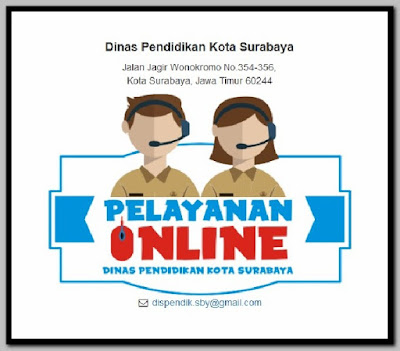 Layanan Online Dinas Pendidikan Surabaya
