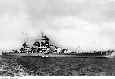 WW2  Battle of Atlantic - DKM Scharnhorst