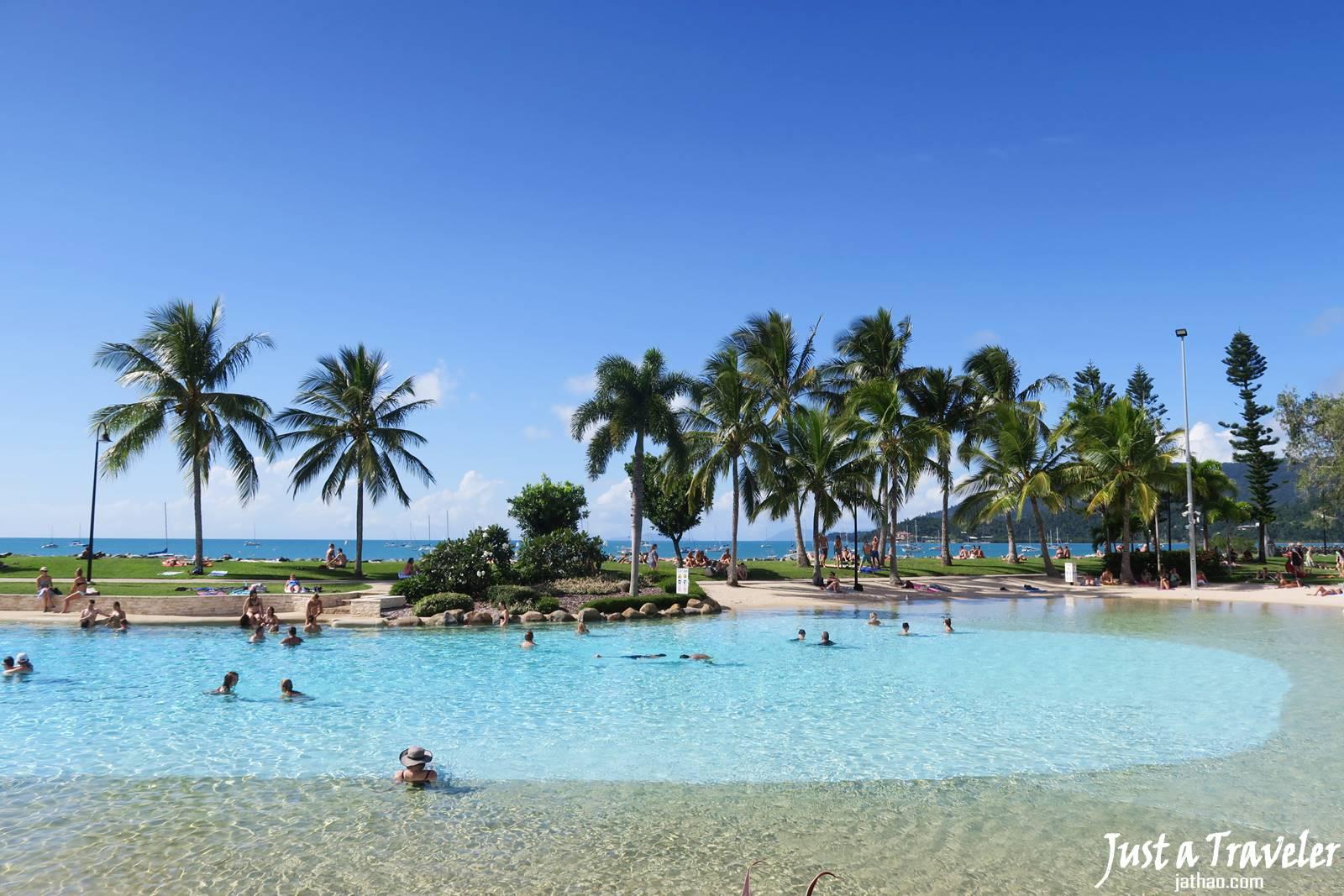 聖靈群島-艾爾利海灘-推薦-景點-潟湖-Lagoon-市區-旅遊-觀光-行程-遊記-自由行-一日遊-半日遊-Airlie-Beach-Travel-Attraction