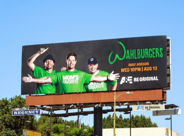 Wahlburgers season 2 Mom's favorite billboard