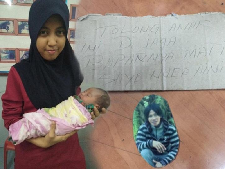 Bayi Ditinggalkan Bersama Nota Dan Duit RM15