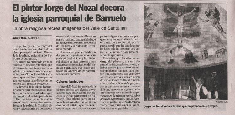 El Norte de Castilla Jorge del Nozal