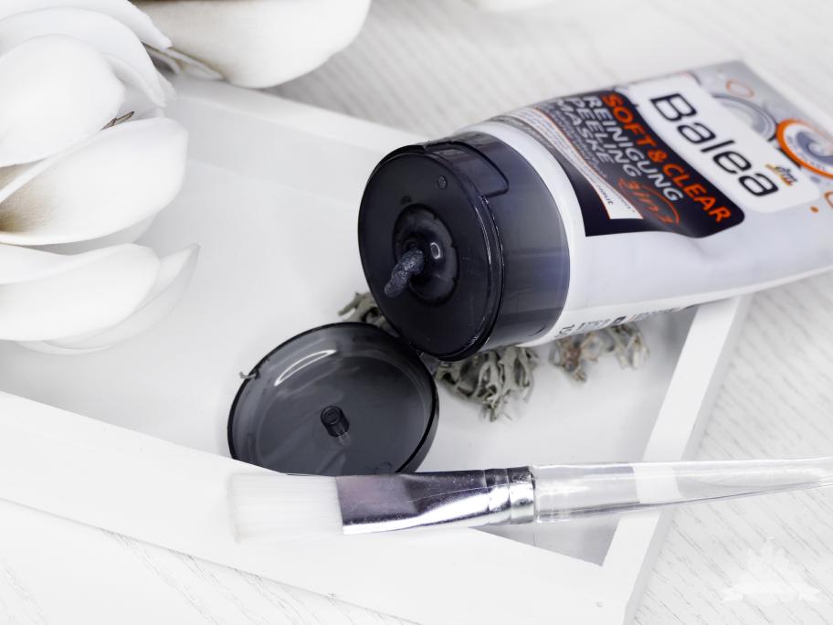 Balea Soft & Clear 3in1 Reinigung, Peeling, Maske