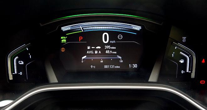 Honda CR-V Hybrid instruments
