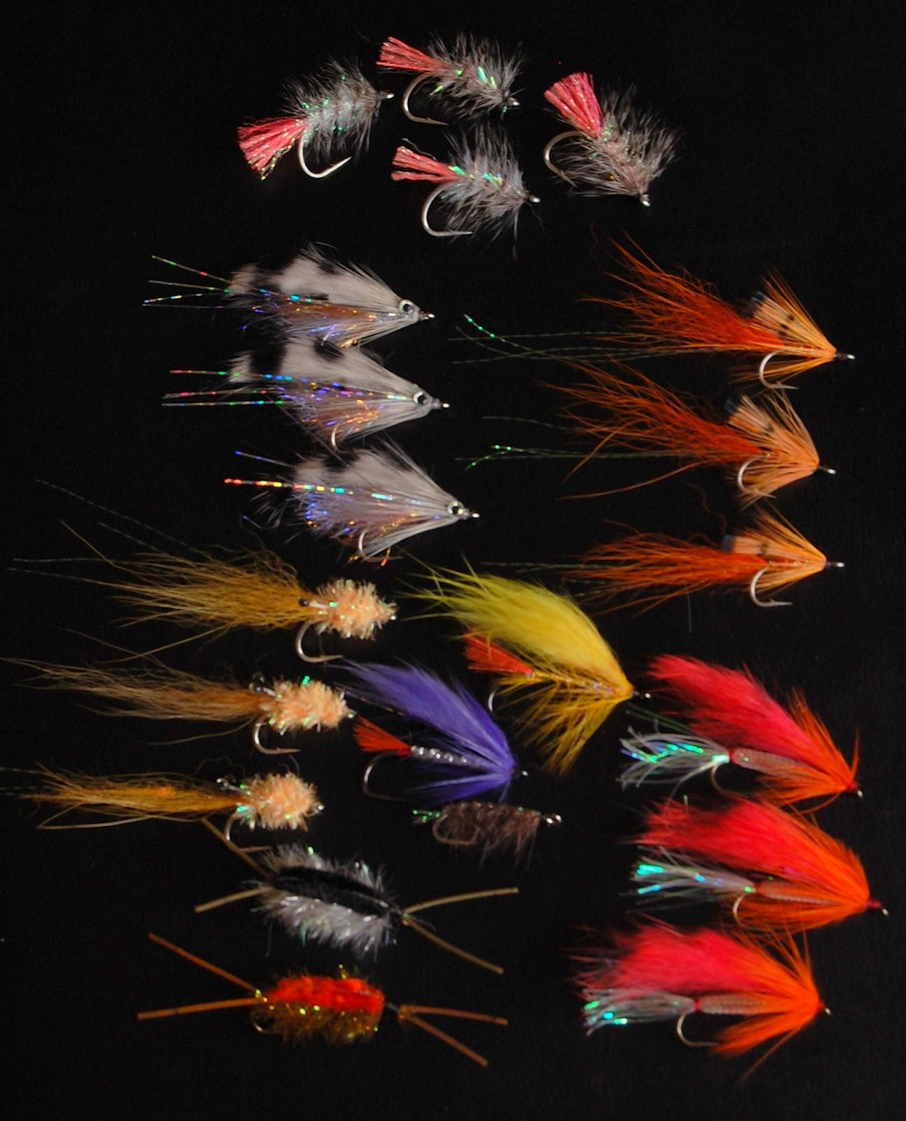 Fiskelängtan: Flugor Till Kustens Havsöringar. Lite