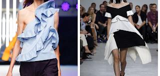 Consultoria de imagem | Drama no guarda-roupa | Como usar folhos: Imagens de desfiles de moda apenas para ilustrar