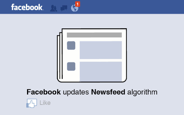 Facebook Newsfeed algorithm update.