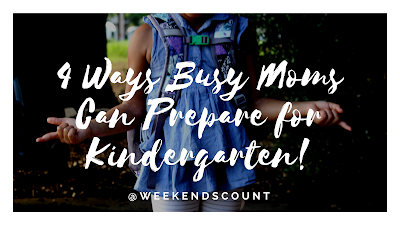 Four Ways Busy Moms Can Prepare for Kindergarten