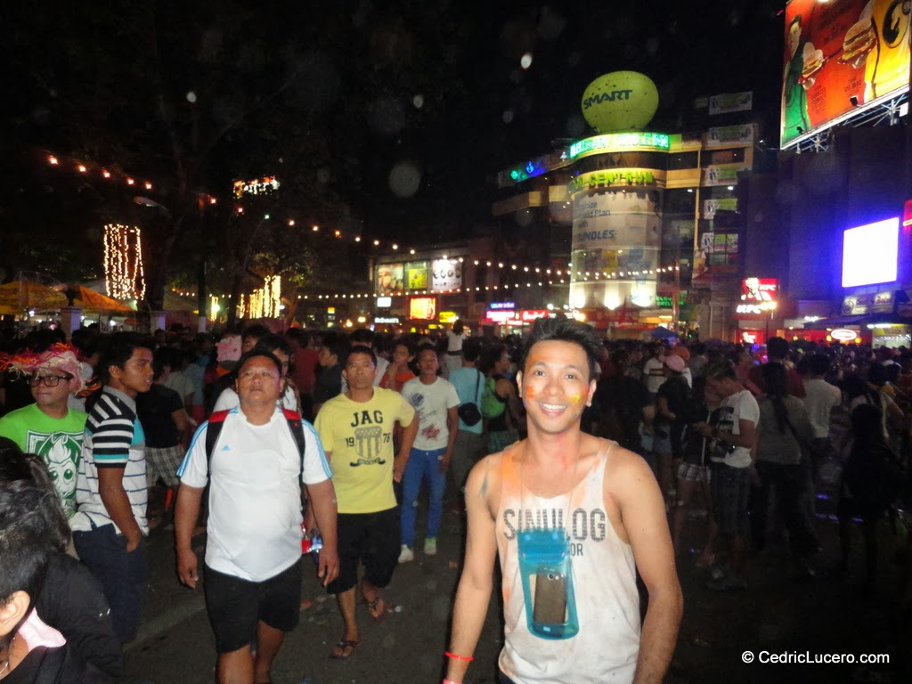 Fuente Osmeña Circle after the Sinulog parade. :)