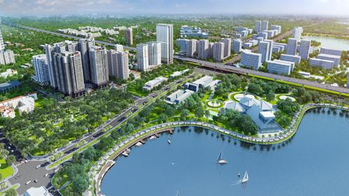 Vấn đề môi trường quanh khu dự án nhà liền kề 63 Nguyễn Huy Tưởng