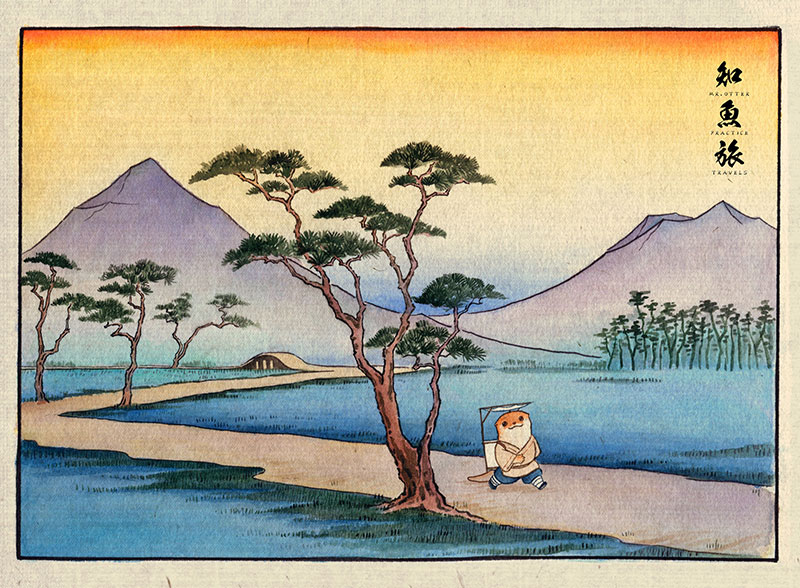 simon-lee-10 Mr.Otter's Practice Travels: Illustrations by Simon Lee Design