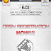 Open Registration Electro Competition