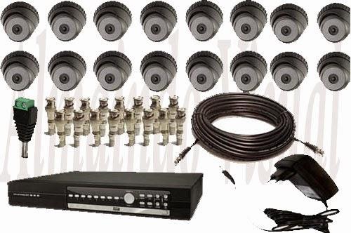 Paket 16 Kamera Cctv