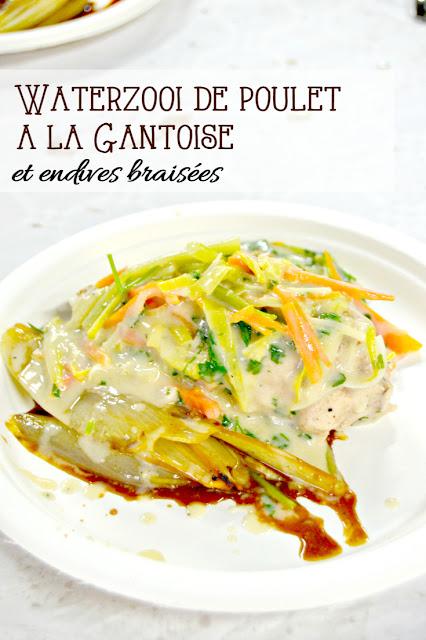 Recette facile Waterzooï de poulet - muffinzlover.blogspot.fr