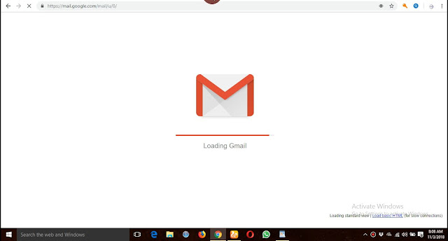 How to change gmail account background themes quickly