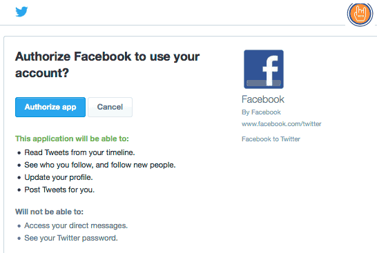 How To Link Your Facebook To Twitter<br/>