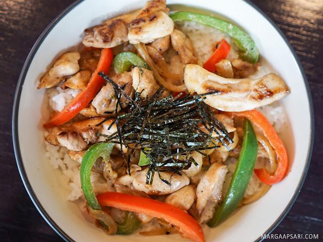 Chicken Teriyaki Don Sushi Nobu (Shabu Nobu)