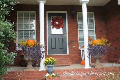 front door fall decor modern masters paint
