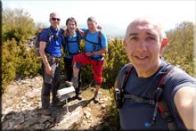 Okomendia (Otzamendi) mendiaren gailurra 1.258 m. - 2018ko maiatzaren 6an