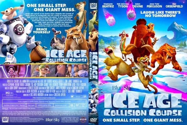 Ice Age: Collision Course – Latino, Inglés