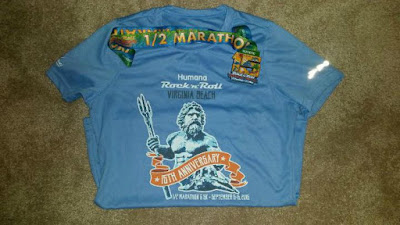 anniversary race shirt virginia beach half marathon
