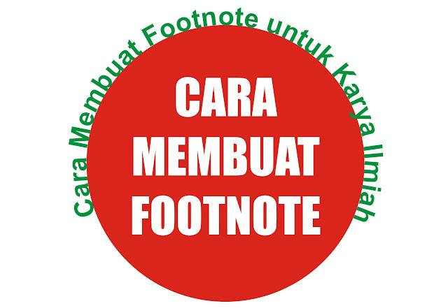 Gambar Bikin Footnote