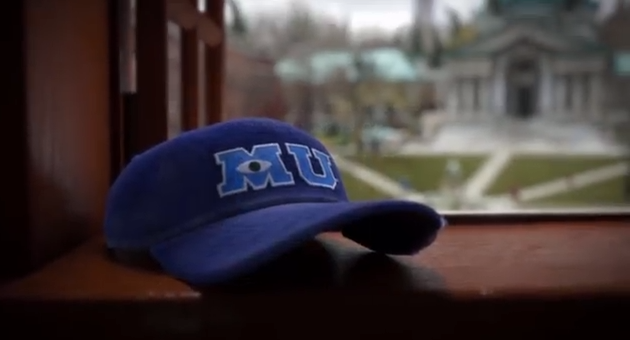 Dan The Pixar Fan Monsters University Mu Baseball Hat Disney Parks