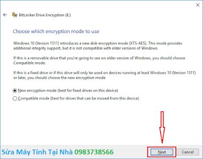 Đặt mật khẩu ổ cứng bằng BitLocker - H06