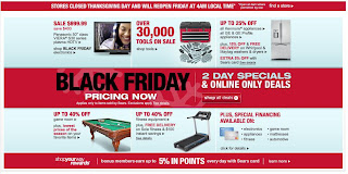 Black Friday Sale 2011: Sears Deals Two-Day Special after Thanksgiving Day