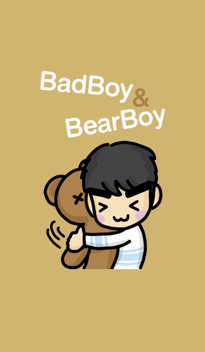 Bad boy & Bear boy