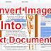 Kise Bhi Image Ko Text Document Me Convert Kaise Kare