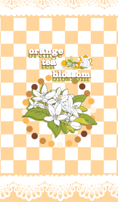 orange tea blossom